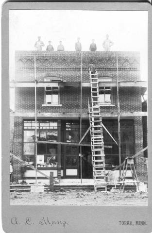 Baustelle in Torah Minnesota